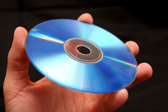 CD的把柄 库存图片