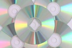 CD的数据记录 库存图片