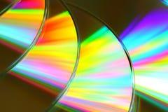 CD的数据s 免版税库存图片