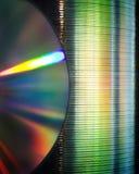 CD的栈 库存图片