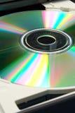 CD的桌面 库存照片