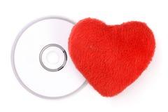 CD的爱情歌曲 免版税库存图片