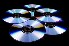 CD的盘dvd 免版税库存图片