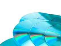 CD的组介绍 免版税图库摄影