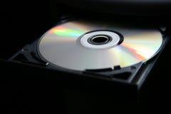 CD的计算机dvd盘 库存照片