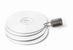CD的锁定 免版税库存照片