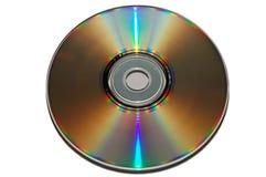 CD的颜色彩虹 库存图片