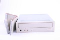 CD的驱动器 免版税图库摄影