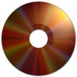CD的黑暗的媒体纹理 库存照片