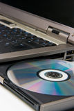 CD的dvd技术 免版税库存图片