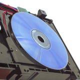 CD的dvd设备 免版税库存照片