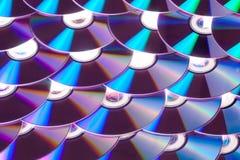 CD的dvd 免版税库存图片