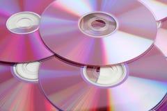 CD的dvd 免版税图库摄影