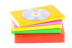 CD βιβλίων πολλά Στοκ Εικόνες
