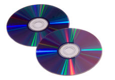 CD δύο Στοκ εικόνα με δικαίωμα ελεύθερης χρήσης