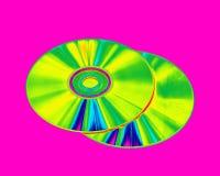 CD και DVDs Στοκ φωτογραφία με δικαίωμα ελεύθερης χρήσης