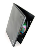 Cd υπόθεσης dvd στοκ εικόνες με δικαίωμα ελεύθερης χρήσης