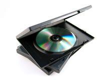 Cd υπόθεσης dvd Στοκ φωτογραφία με δικαίωμα ελεύθερης χρήσης