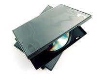 Cd υπόθεσης dvd Στοκ Εικόνες