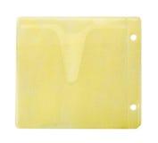 cd желтый цвет габарита Стоковые Изображения