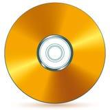 cd золото Стоковое Фото