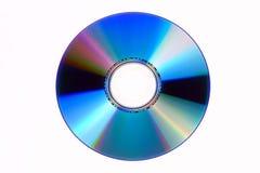 cd изолированное dvd Стоковая Фотография