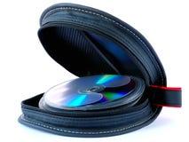 cd изолированный держатель Стоковые Изображения