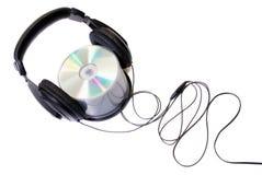 cd наушники Стоковые Изображения RF