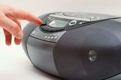 cd радио Стоковое фото RF