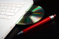 cd тетрадь Стоковые Фото