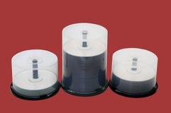 cd шпиндель дисков Стоковое фото RF