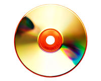Cd. Compact Disk on white Stock Images