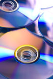 CD. A Lot Of CD On Closeup Royalty Free Stock Photo