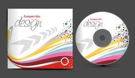 CD的盖子设计 免版税库存图片