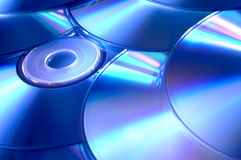 CD. Compact disc Stock Image