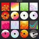 CD Abdeckung lizenzfreie abbildung