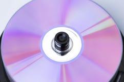 CD aislado Imágenes de archivo libres de regalías