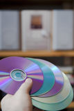 CD audio media Royalty Free Stock Images