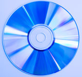 CD azul Fotografia de Stock Royalty Free