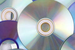 CD Background Stock Image