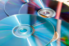 CD background Royalty Free Stock Images
