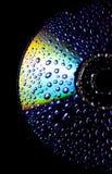 CD bagnato Fotografie Stock Libere da Diritti