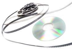 cd biofilmrulle royaltyfria foton