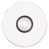 Cd blanco en blanco de la música Fotografía de archivo libre de regalías