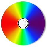 CD Blu Ray Disc Stock Image