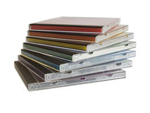 CD box Stock Image