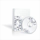 CD box template. Vector Stock Photo