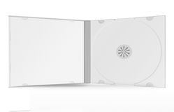 cd box on white background Stock Photography