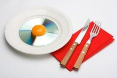 CD Breakfast 4 Stock Images