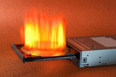 CD Burner Royalty Free Stock Image